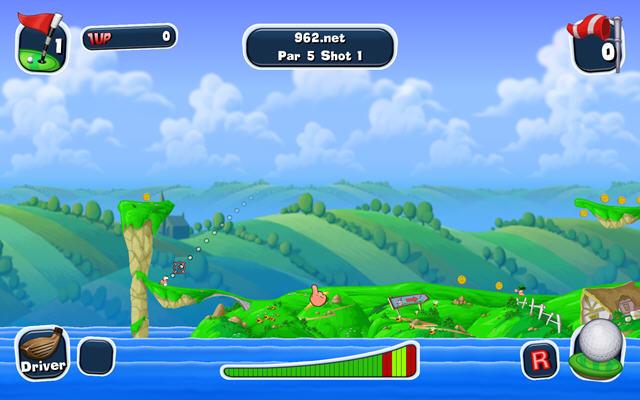 百战天虫:疯狂高尔夫(Worms Crazy Golf)完整硬盘版截图0