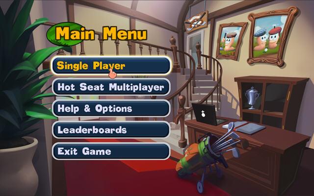 百战天虫:疯狂高尔夫(Worms Crazy Golf)完整硬盘版截图1