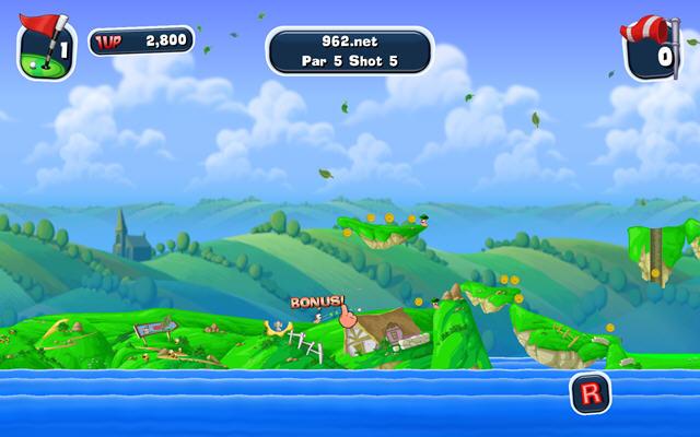 百战天虫:疯狂高尔夫(Worms Crazy Golf)完整硬盘版截图3