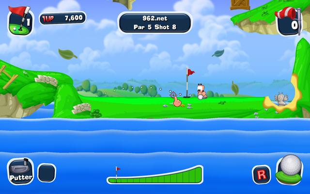 百战天虫:疯狂高尔夫(Worms Crazy Golf)完整硬盘版截图6