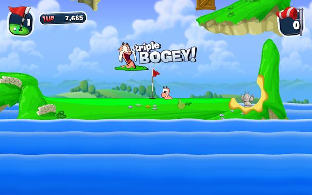 百战天虫:疯狂高尔夫(Worms Crazy Golf)完整硬盘版截图7