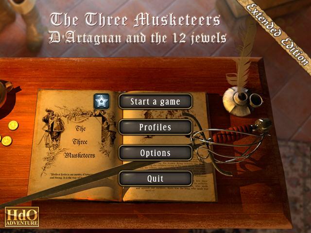 三个火枪手:达达尼昂和12宝石(The Three Musketeers:D'Artagnan and the 12 Jewels EE)完整硬盘版截图1