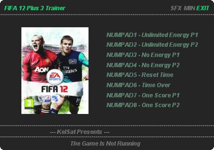 《FIFA 12》3项属性修改器