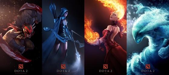 《dota2》背景故事设定 逐步完善所有英雄背景