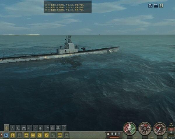 猎杀潜航4太平洋之狼-U型潜艇任务(Silent Hunter 4: Wolves Of The Pacific: U-Boat Missions)中文免安装硬盘版截图2