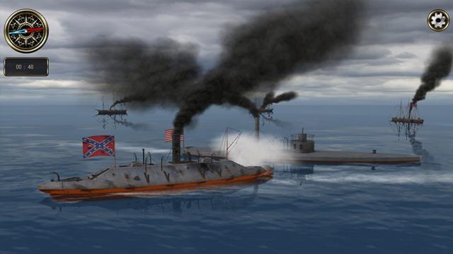 铁甲舰:公海之战截图0