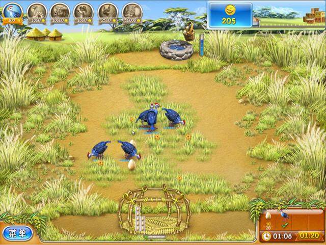 疯狂农场3:马达加斯加(Farm Frenzy 3: Madagascar)中文硬盘版截图2