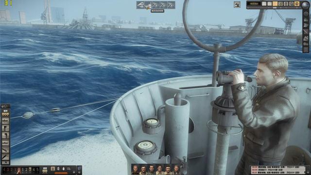 猎杀潜航5:大西洋战役(Silent Hunter V: Battle of the Atlantic)中文硬盘版截图0
