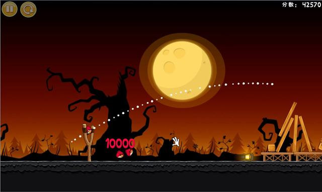愤怒的小鸟:季节版(Angry Birds Seasons)v2.0 完整硬盘版截图4
