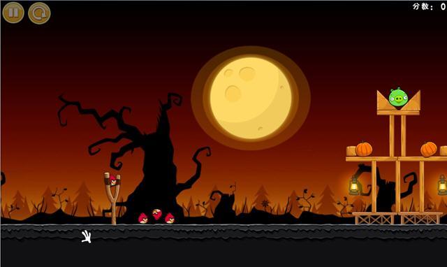愤怒的小鸟:季节版(Angry Birds Seasons)v2.0 完整硬盘版截图3