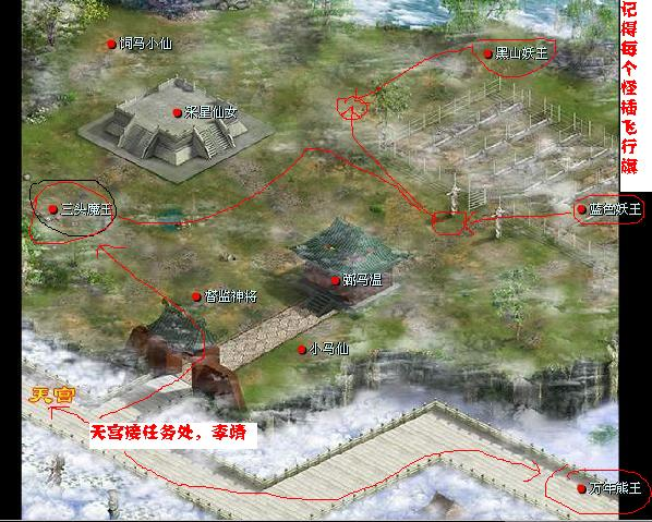 东海渔村到洛阳走法,图太多,不好贴,我就说说大概怎么走,宠物仙子地图