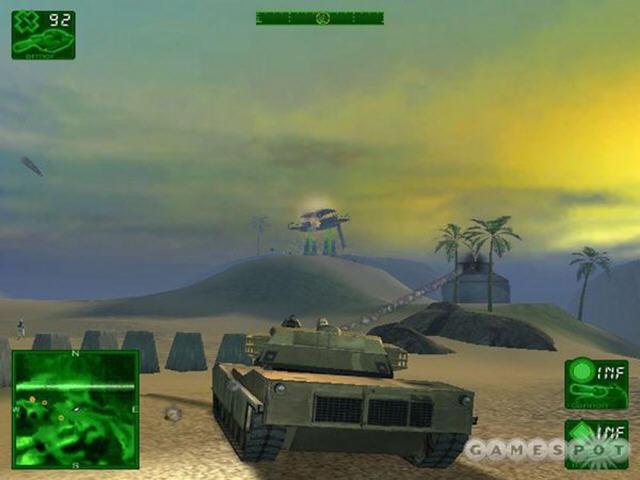 坦克大战:沙漠惊雷中文硬盘版截图0