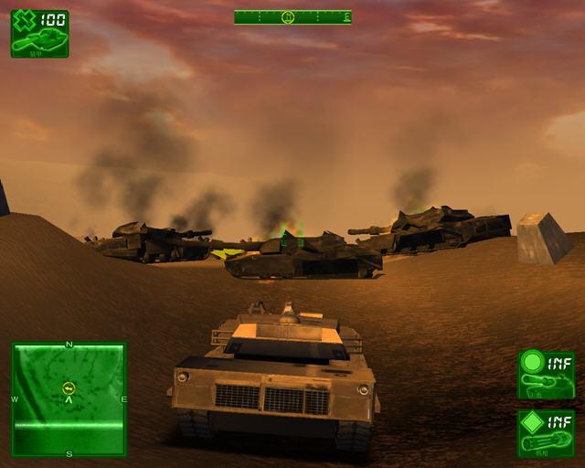 坦克大战:沙漠惊雷中文硬盘版截图3