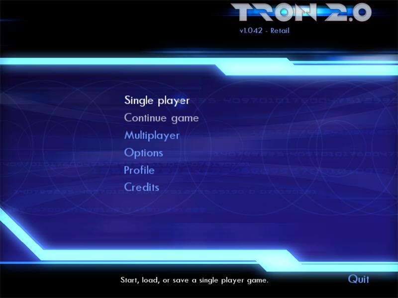 电子世界争霸战 Tron 2.0英文硬盘版截图0