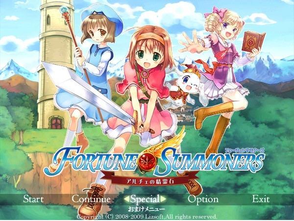 命�\召���茄的精�`石(Fortune Summoners ~Arche no Seireiseki~ Deluxe)中文�h化硬�P版截�D2