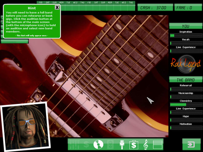 虚拟人生:摇滚传说(KudosRockLegend)绿色完整版截图0