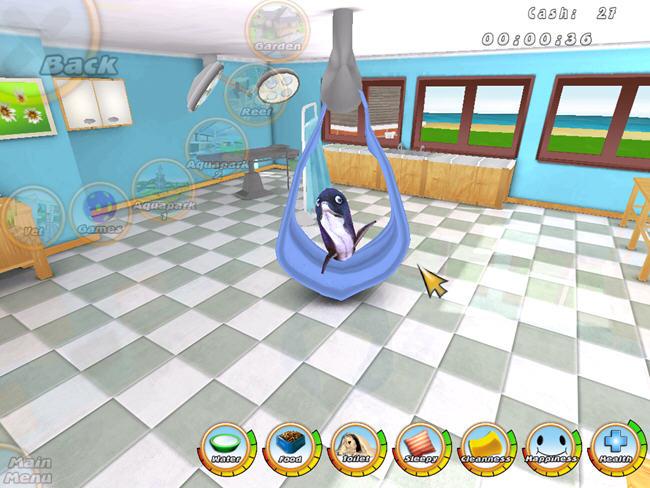 虚拟水族宠物:海豚(101 Dolphin Pets)绿色硬盘版截图2