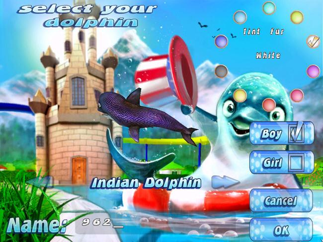 虚拟水族宠物:海豚(101 Dolphin Pets)绿色硬盘版截图0