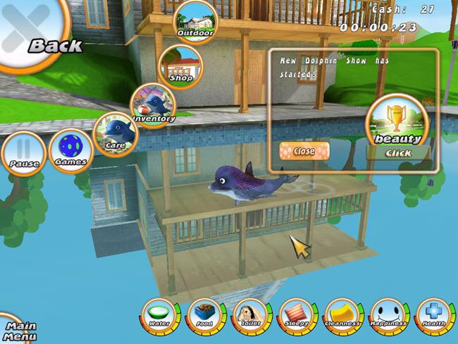 虚拟水族宠物:海豚(101 Dolphin Pets)绿色硬盘版截图1