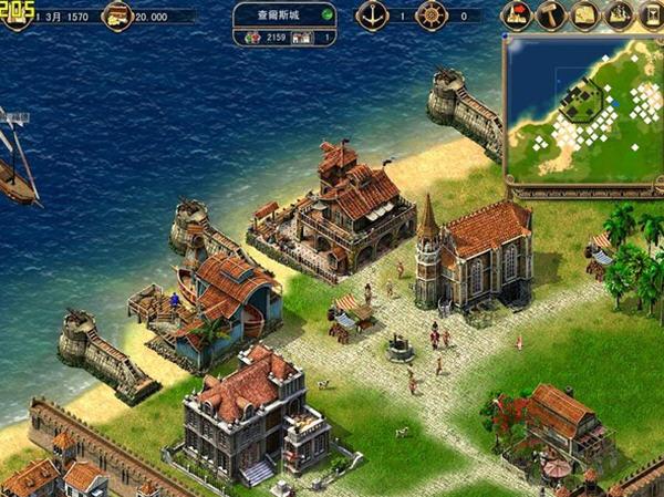 海商王(Port Royale)完美中文硬盘版截图3