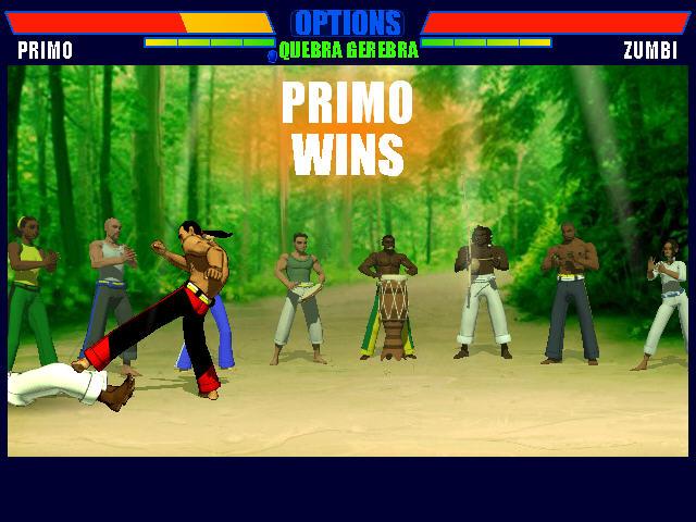 卡泼卫勒格斗2(Capoeira Fighter 2)绿色英文版截图0