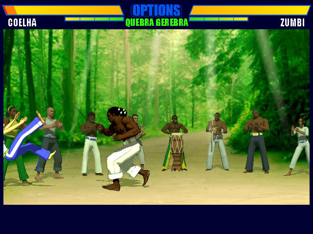 卡泼卫勒格斗2(Capoeira Fighter 2)绿色英文版截图1
