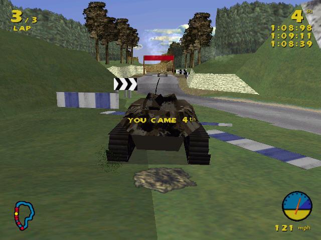 坦克赛车截图1