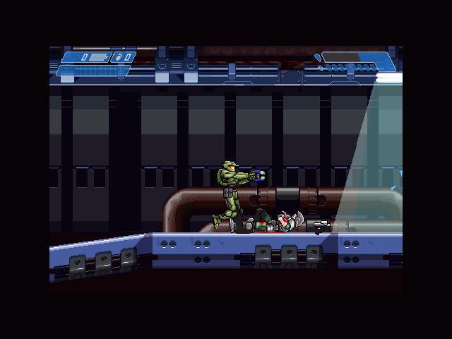 光晕-零(HaloZero)绿色英文版截图2