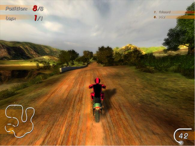 乡村摩托赛(Moto Racing)英文硬盘版截图0