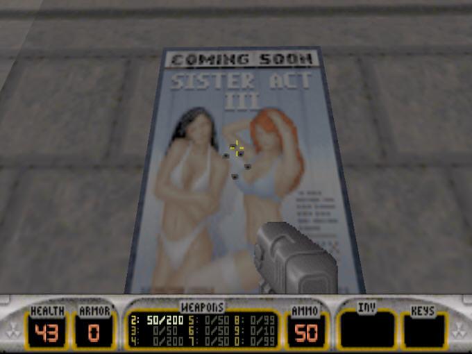 毁灭公爵3D(Duke3D)完整硬盘版截图2