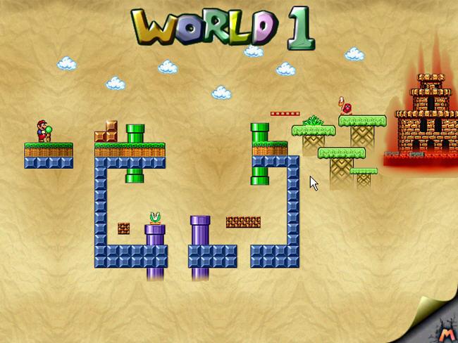 永远的超级玛丽5(MarioForever5)完美硬盘版截图0
