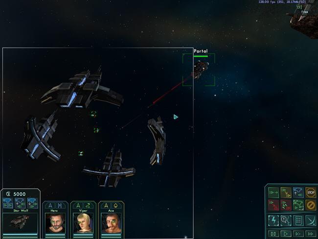 星际之狼(StarWolves1)绿色英文版截图2