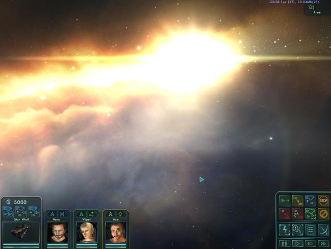 星际之狼(StarWolves1)绿色英文版截图0