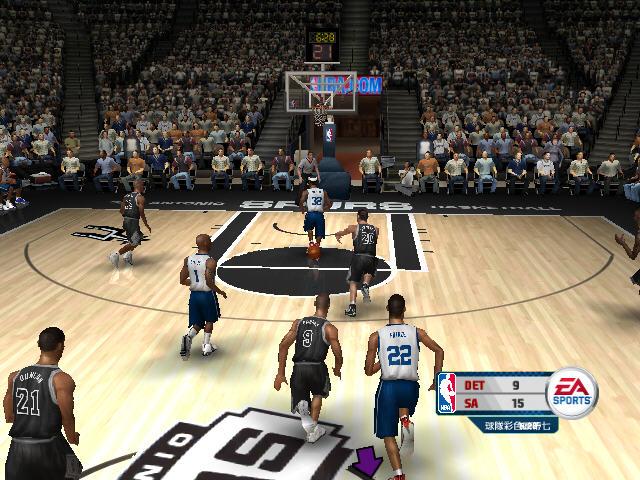 NBA live 2006中文完整版截图2