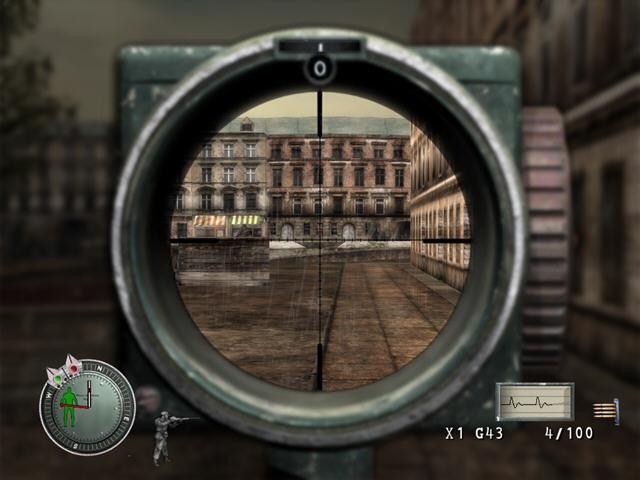 狙击精英汉化完整版截图1