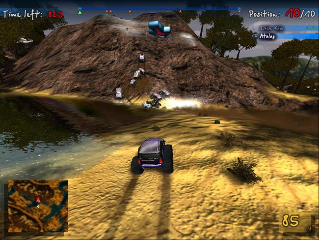 四驱大脚车挑战赛(BigFoot)绿色硬盘版截图2