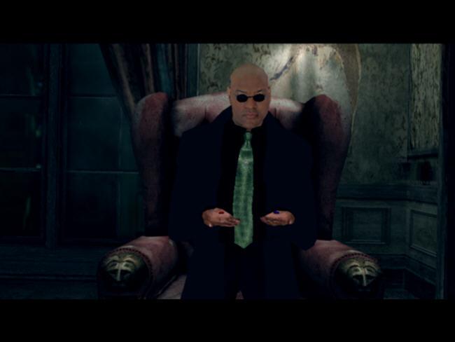 黑客帝国:尼奥之路(Matrix3)绿色英文版截图1
