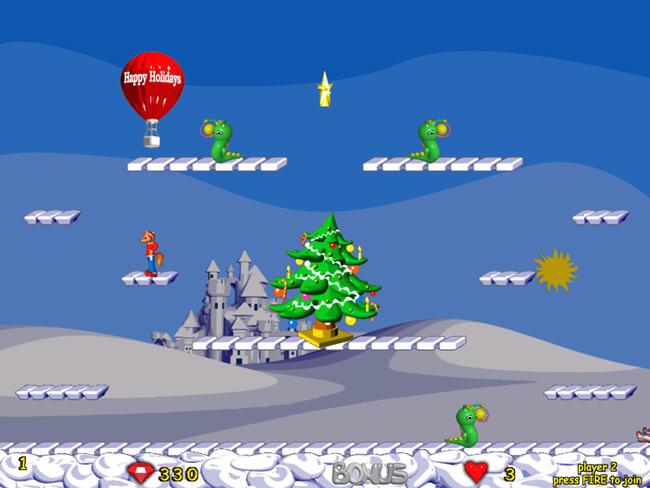 跳跳小狐狸(FoxyJumper2WA)绿色硬盘版截图0
