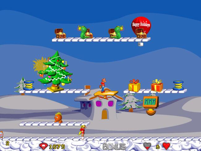 跳跳小狐狸(FoxyJumper2WA)绿色硬盘版截图1