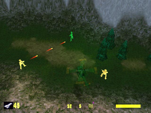 玩具兵大战之空中打击(AMAA)绿色硬盘版截图1