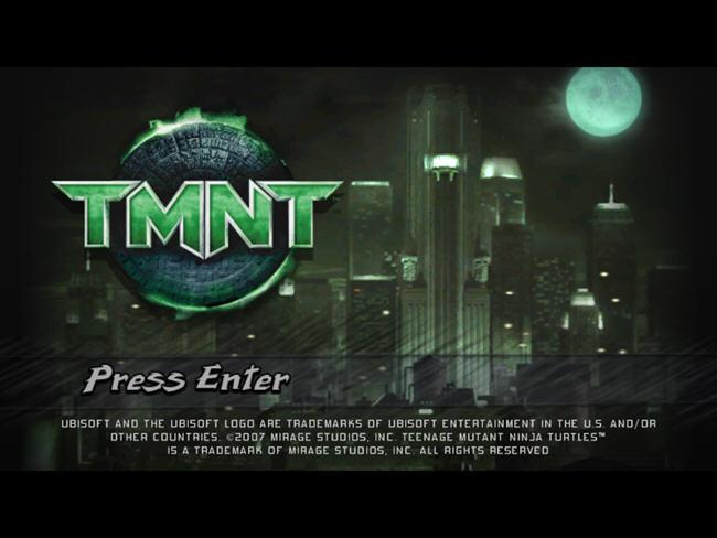 忍者神龟2007(TMNTGame)绿色硬盘版截图0
