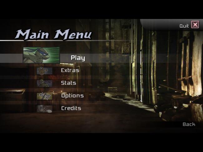 忍者神龟2007(TMNTGame)绿色硬盘版截图1