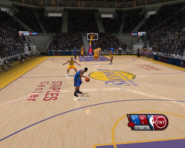 NBA LIVE 2005截图2