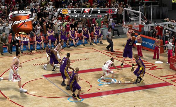 NBA 2k9截图0