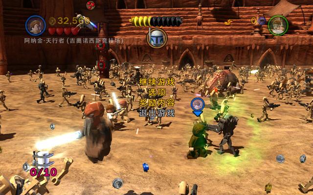 乐高星球大战3:克隆战争截图0