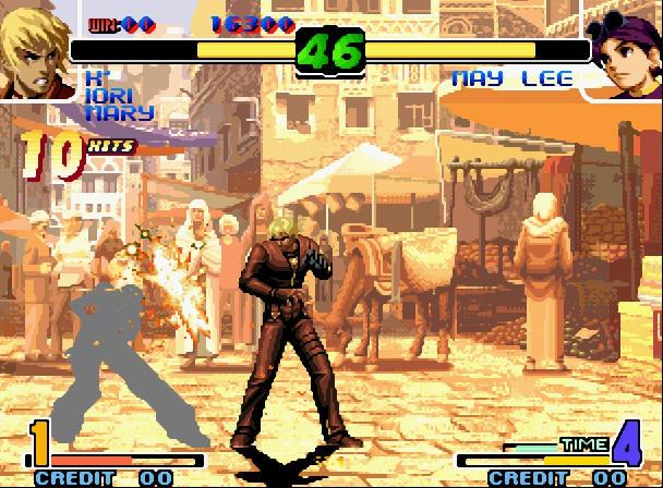 拳皇十周年纪念版加强版中文完美版截图0