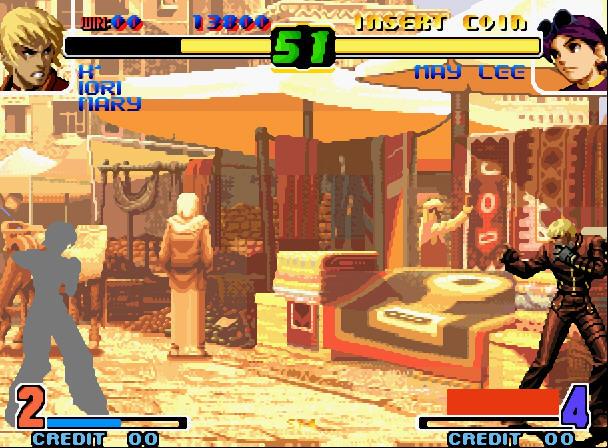 拳皇十周年纪念版加强版中文完美版截图2