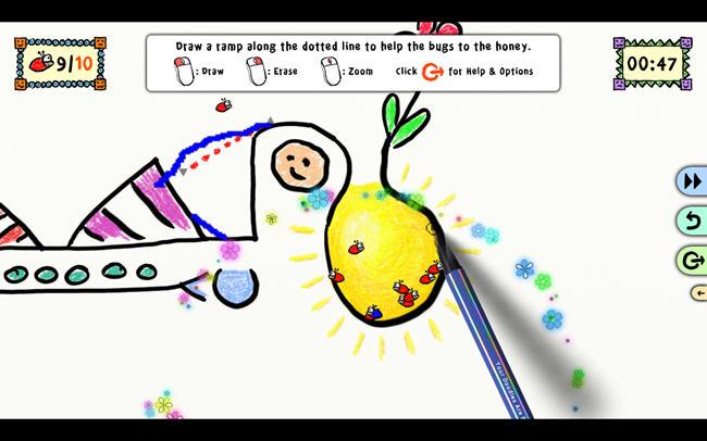 魔笔涂鸦(YourDoodlesAreBugged)绿色硬盘版截图0