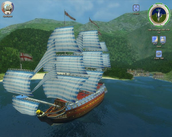 加勒比海盗2:沉船之城(Age of Pirates 2: City of Abandoned Ships)中文免安装硬盘版截图3