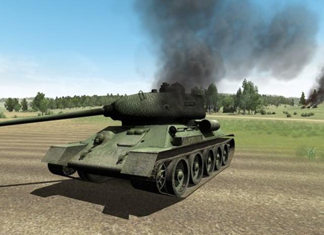 二战坦克:T-34对虎式截图1